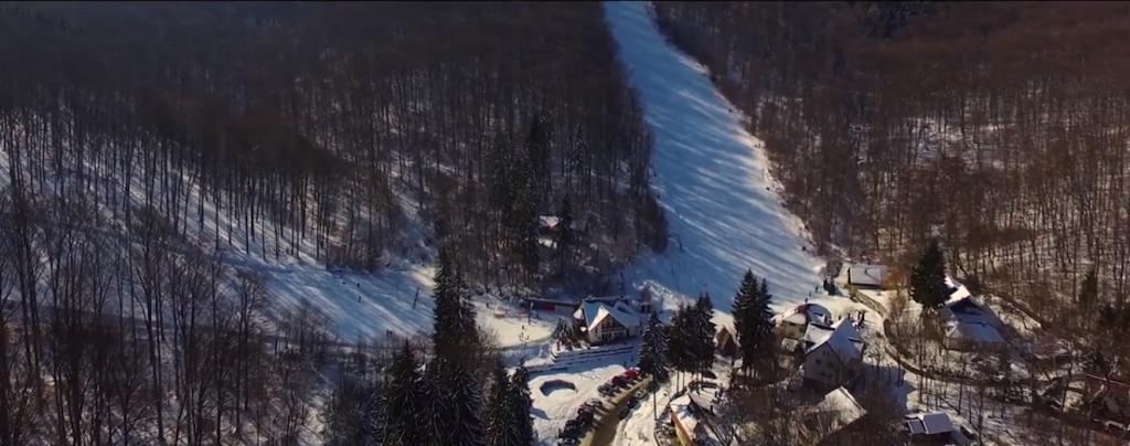 Sugas ski aerial
