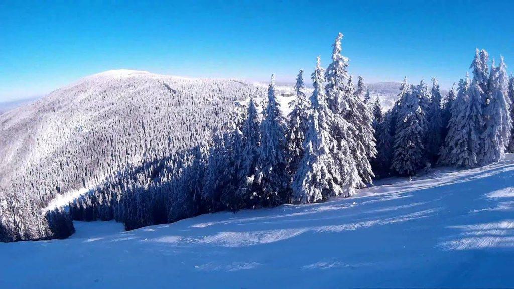 Peisaj de iarna Sugas Bai