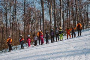 Condiții de schi la Șugaș Băi