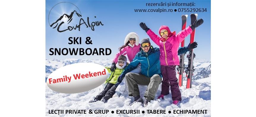 Family SkiWeekend
