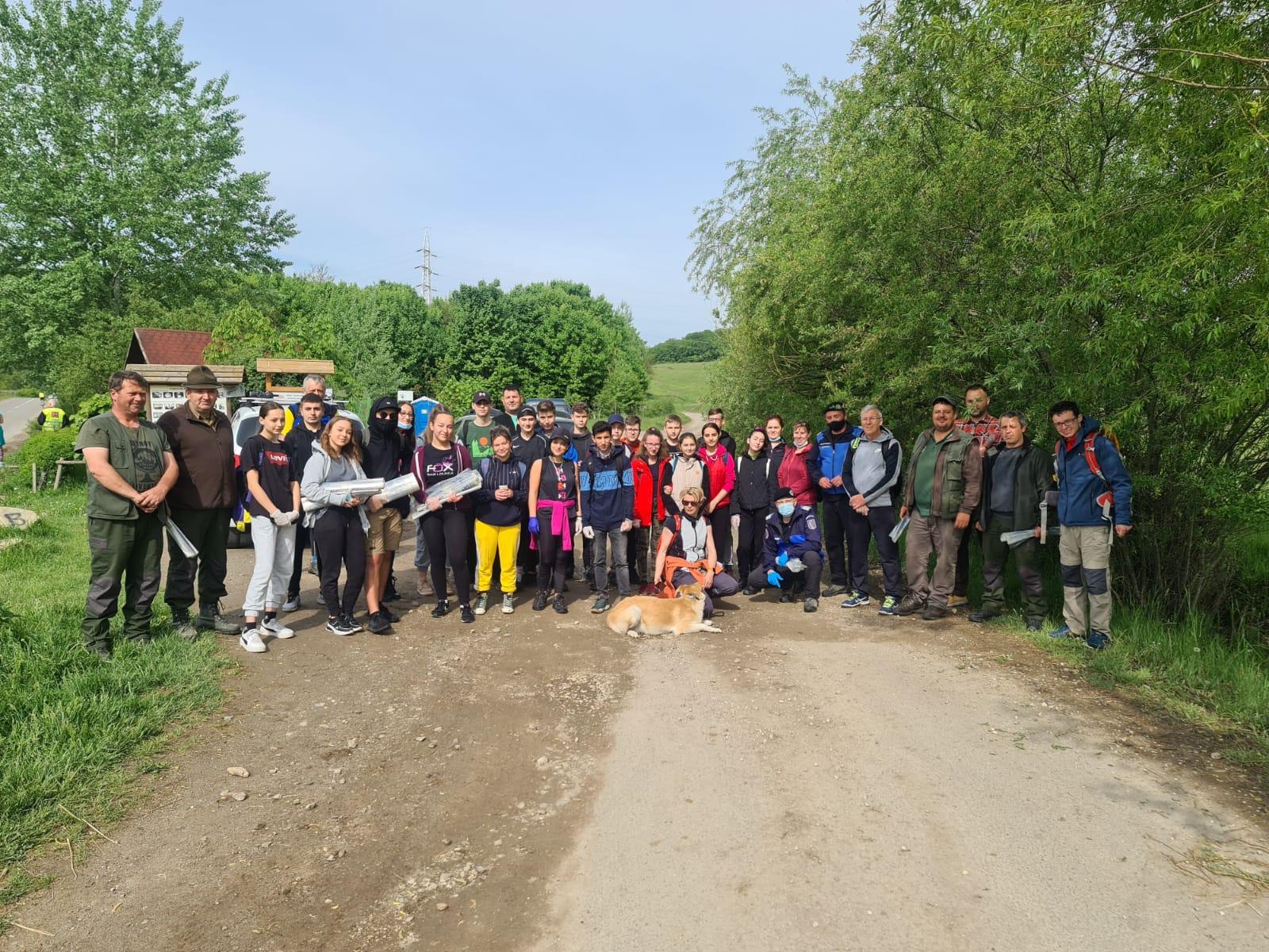 Sepsi Trails: Curățenia de primăvara / Tavaszi nagytakaritás